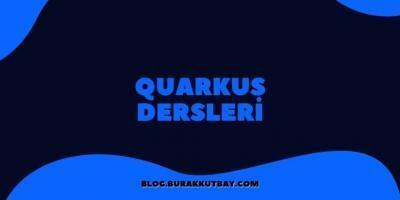 Quarkus Dersleri Uygulama Örnekleri